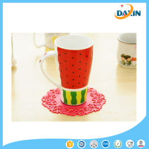 Wholesale Anti-Slip Silicone Lace Mat Silicone Placemat pictures & photos