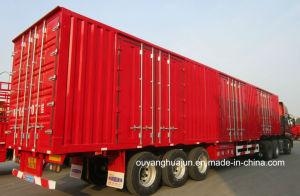 14.6 Meters Van Type Semitrailers with 6 Doors pictures & photos