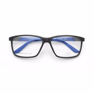 Manufacturer Tr8371 Young Fashion Textured Coating Tr90 Optical Frame Glasses pictures & photos