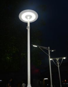 20W Smart Bluetooth Integrated Solar LED Street Garden Lamp pictures & photos