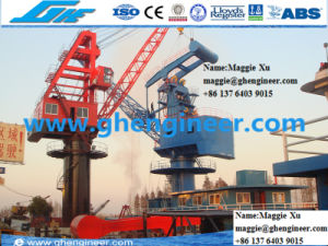 20t20m Fixed Port Jetty Onshore Wharf Portal Crane pictures & photos