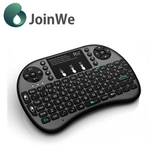 2.4G Rechargeable I8 Wireless Keyboard with Remote Controller pictures & photos