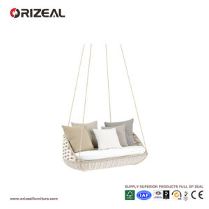 Outdoor Rattan 2- Seater Hanging Swing Sofa Oz-Or055 pictures & photos