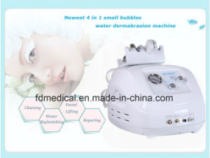 4in1 Small Bubbles Water Oxygen Dermabrasion Facial Cleansing Machine pictures & photos