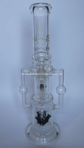 "18"" Rocket Glass Water Pipes with Arm Tree Perc pictures & photos"