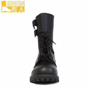 High Quality DMS Cow Leather France Type Military Boots pictures & photos