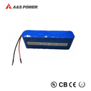 Rechargeable LiFePO4 Solar Street Light Batery 26650 4s4p 12.8V 14ah Battery Packs pictures & photos