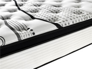 Highest Level 7 Zone Pocket Spring Latex Mattress pictures & photos
