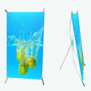 Common Desktop Mini X Banner Stand (BN-16) pictures & photos