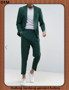 Men Leisure Dress Green Best Suit Online Sale