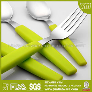 Soft Feeling High Quality House Using Plastic Handle Cutlery for Dinnerware pictures & photos