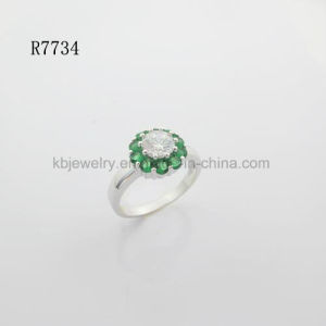 925 Silver Finger Ring Gemstone Plated Jewelry (7734) pictures & photos