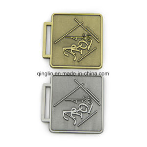 Custom Gold and Silvery Plating Zinc Alloy Metal Medals with Logo pictures & photos