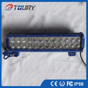 72W Curved off-Road LED Light Bar with Ce RoHS FCC pictures & photos