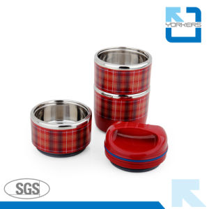 2017 Hot Selling New Design Stainless Steel Thermal Lunch Box pictures & photos