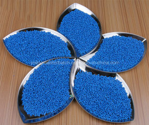 ABS PLA 3D Filament Injection Plastic Filler Blue Color Masterbatch Manufacturer pictures & photos