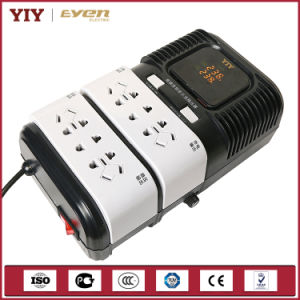 Pr Microprocessor Controlled Socket Automatic Voltage Regulator AVR 2000va for Computer /TV/Printer pictures & photos