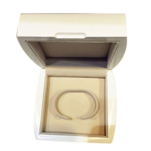 Piano Lacquer Glossy Solid White Color Wooden Watch /Jewelry Box