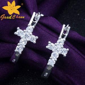 Stse-16113011 Fashion Cross Drill 925 Silver Value