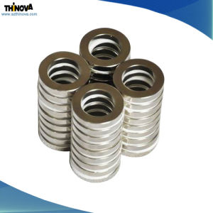 Permanent Ring Sintered Neodymium Magnet with SGS pictures & photos