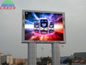 Enbon P10mm 3G Control LED Sign Board (10X6m) for Shopping Mall Advertising pictures & photos