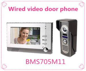 4 Wire Intercom System Video Door Phone Door Bell Security Tools pictures & photos