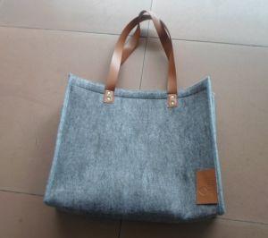 Fashion Lady Tote Felt Bag pictures & photos