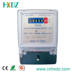 Single Phase Digital Energy Meter pictures & photos