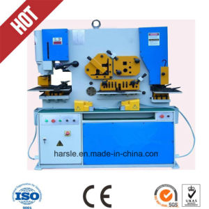 Top Quality Harsle Brand Punching Shearing & Notching Machine pictures & photos