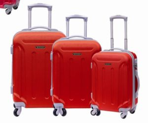 Zipper Style Hard Trolley Case Material ABS pictures & photos
