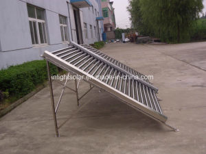 Stainless Steel Non Pressure Evacuated Tube Solar Collector pictures & photos