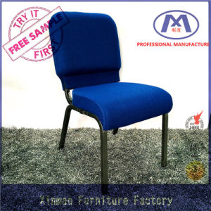 Free Sample Wholesale Price Metal Frame Used Chairs for Church pictures & photos