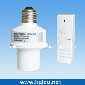 433.92MHz E27 Wireless RF Remote Control Lamp Holder (KA-RLH04) pictures & photos