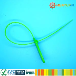 Industry appication13.56MHz passive NTAG213 RFID NFC Cable tie tag pictures & photos