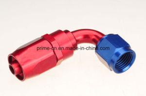 An6 Aluminum 90degree Swivel Hose End Fittings pictures & photos