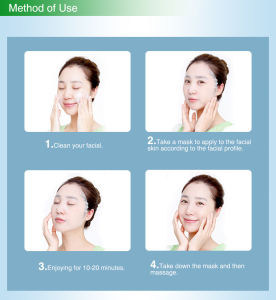 Zeal Smoothing and Whitening Ganodorma Lucidum Face Mask pictures & photos