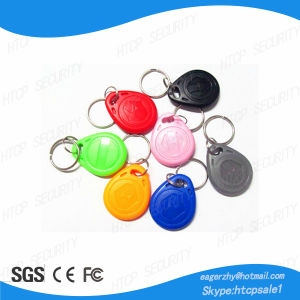 Dainty Design ABS Contactless 13.56MHz IC Rewritable Keyfob pictures & photos