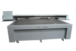 2.5m Ricoh Gen5 Textile UV Flatbed T Shirt Printer pictures & photos