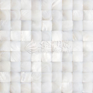 Iridescent River Freshwater Shell Mother of Pearl Mosaic Tile pictures & photos