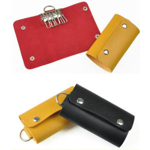 Custom Bold Leather Line Design Honorable Leather Key Holder pictures & photos