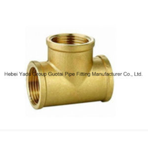 Pipe Fittings Copper Female Tee pictures & photos