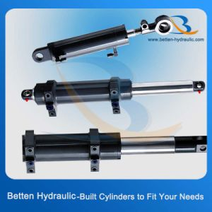 Forklift Equipments Hydraulic Cylinder (rod diameter: 40 Bore dia: 60) pictures & photos