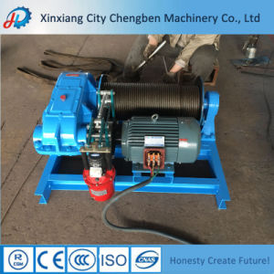 New Design Cable Drum 5000kg Electric Winch for Sale pictures & photos