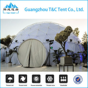High Quality Metal Frame Fiberglass Dome House, Dome Geodesic Tarrington House Garden Furniture pictures & photos