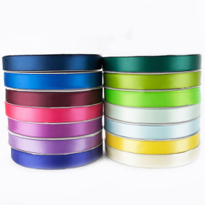 Cheap Custom Cheap Color Polyester Printing Webbing Tape Satin Ribbon pictures & photos