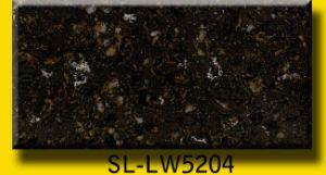 Calacatta Colorful Artificial Quartz Countertops pictures & photos