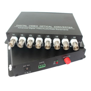 8 Channel / 16 Channel Optical Multiplexer Fiber Optic Video Converter pictures & photos