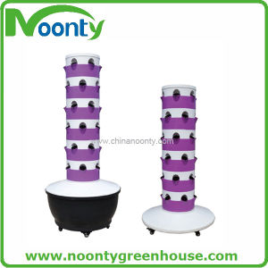 Garden and Horticultural Aeroponics Growing Tower System with Pump for Vegetable and Flower and Fruit pictures & photos