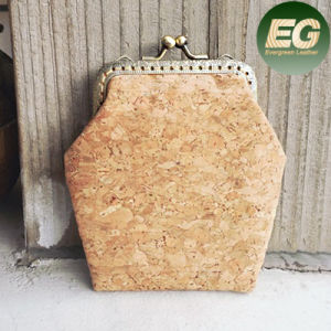 OEM/ODM Professionally Cork Purses for Coins Girls′ Designer Purse Sy7992 pictures & photos