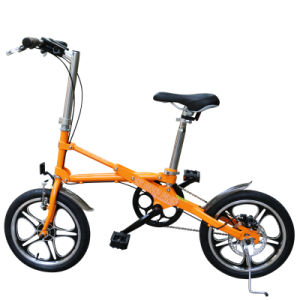 One Second Folding Bike/16 Inch Small Size Bike pictures & photos